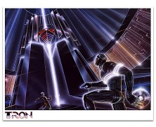 D23 Exclusive Limited Edition 'Attack on the MCP' TRON Giclee