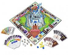 Disney Theme Park Edition III Monopoly Board Game