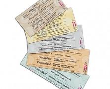 Walt Disney World Admission Ticket Magnet Set