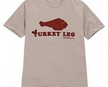 Turkey Leg T-Shirt and Baseball Cap