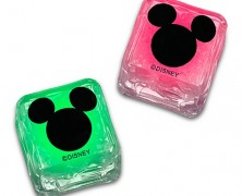 Glowing Mickey Mouse Ice Cube Set