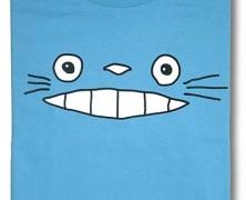 Cheshire Totoro Face T-Shirt