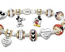 Walt Disney 110th Anniversary Charm Bracelet