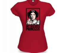 Princess Leia Babydoll T-shirt