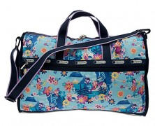 it's a small world Weekender Bag by Lesportsac