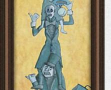 Quick Hitchers Haunted Mansion Print