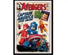Lego Marvel Avengers Print