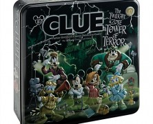 Twilight Zone Tower of Terror Clue Game