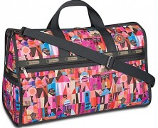 LeSportsac it's a small world Weekender Bag