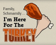 Family Schmamily Turkey Leg T-shirt