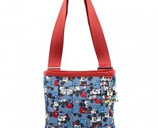 Harveys Disney Classic Mickey and Minnie Messenger Bag