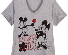 Mickey and Minnie Plus Size T-shirt