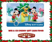 The Mickey Fix Holiday Contest! Win a $50 Disney Gift Card!