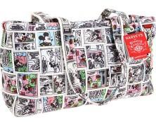 Harveys Disney Seatbelt Bag Classic Comics Satchel
