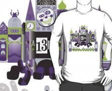 Haunted Mansion Small World Mashup T-shirt