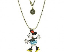 Disney Couture Minnie Mouse Necklace by Dr. X