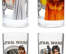 Star Wars Set of 4 Beverage Glasses