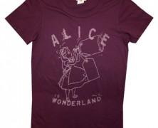 Alice in Wonderland Vintage Style T-Shirt