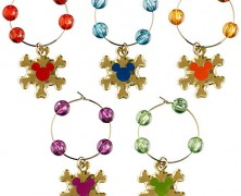 Mickey Mouse Beverage Charms Holiday Set