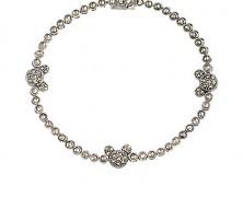 Mickey Mouse Sterling Silver Bracelet
