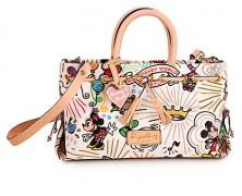 Dooney & Bourke Disney Sketch Tassel Tote