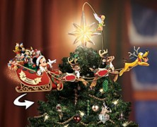 Disney Illuminated Rotating Star Tree Topper
