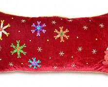 Mickey Mouse Christmas Holiday Santa Pillow
