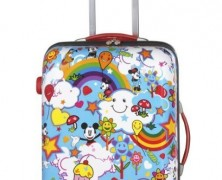 Mickey and Minnie Magical World Spinner Suitcase
