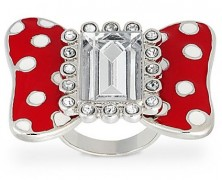 Minnie Mouse Bow Ring by Disney Couture