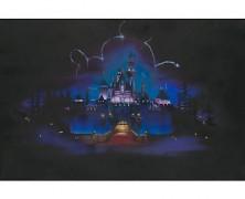Sleeping Beauty Castle Canvas by Noah