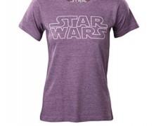 Star Wars Purple Tissue Weight T-shirt