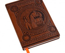 Brave Faux Leather Journal