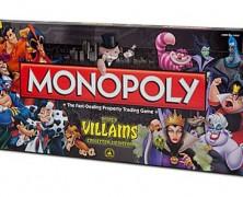 Disney Villains Monopoly Game Collector's Edition