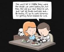 Star Wars Stormtrooper Force-Choked T-shirt
