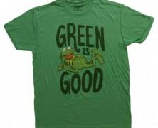 Muppets Kermit Green is Good T-Shirt