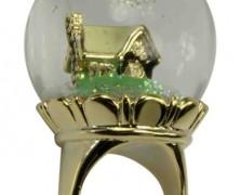 Disney Couture Snow White Chunky Globe Ring