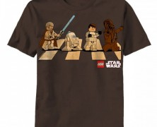 Lego Star Wars Abbey Road Mashup Tee