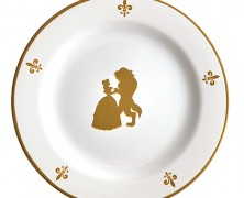 Be Our Guest Dessert Plates