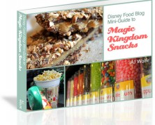 Disney Food Blog Mini-Guide to Magic Kingdom Snacks e-Book