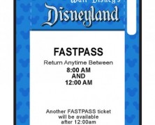 Disneyland Fastpass iPhone 5 Case