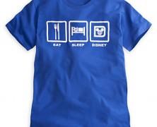 Eat Sleep Disney T-shirt