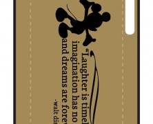 Laughter Is Timeless Walt Disney iPhone Case