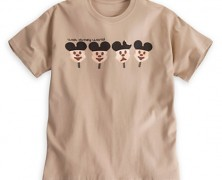 Mickey Mouse Ice Cream Bar Tee for Men