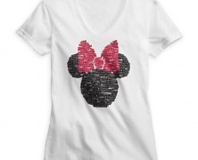Minnie Mouse Bow Icon Tee