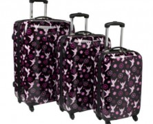 Tinker Bell Three Piece Luggage Set