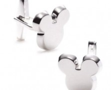 Club 33 Mickey Mouse Cufflinks by Disney Couture