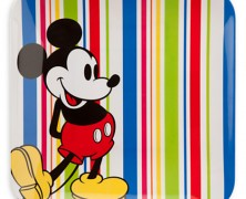 Mickey Mouse Summer Fun Dinner Plate
