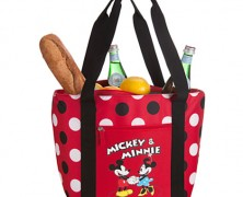 Mickey and Minnie Mouse Cooler Tote