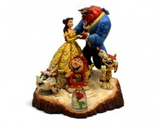 Beauty and the Beast Sculpture