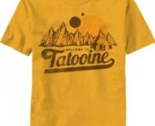 Star Wars Welcome to Tatooine T-shirt
